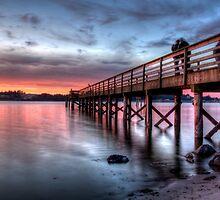 Love on a dock by Avena Singh