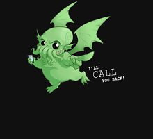 Cthulhu will call you back! Mens V-Neck T-Shirt