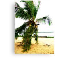 Beach In Badagry Canvas Print