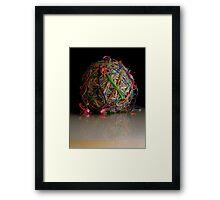dwindling Framed Print