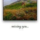 missing you by notecards