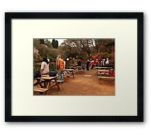 AND THERE THEY ARE - The Nikon photographers workshop Framed Print