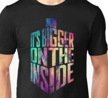 Bigger on the inside - Galaxy Unisex T-Shirt