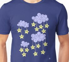 Stars and Clouds (for a child) Unisex T-Shirt