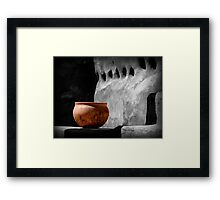 The Bowl Framed Print