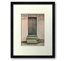 Door 64 Framed Print