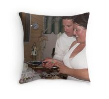 Cutting of the Cake  Throw Pillow