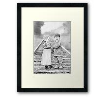 """""""Railway Children Framed Print"""