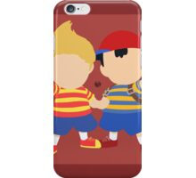 Ness & Lucas (Red) - Super Smash Bros. iPhone Case/Skin