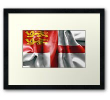Sark Flag Framed Print
