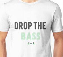 Drop The Bass: Kawaii Edition - Green Unisex T-Shirt