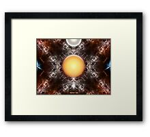 Time Storm - The Sun Trap Framed Print