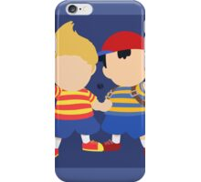 Ness & Lucas (Blue) - Super Smash Bros. iPhone Case/Skin