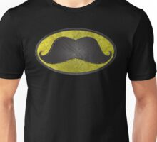 Mustache Man - Funny Comic Hero Icon Unisex T-Shirt