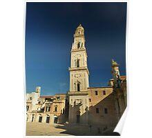 piazza del Duomo, Lecce, Southern Italie Poster