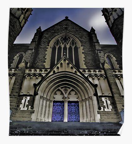 Gothic Heights - Sacred Heart, Bendigo Poster