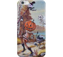 Hallowe'en Comes to Town iPhone Case/Skin