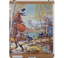 Hallowe'en Comes to Town iPad Case/Skin