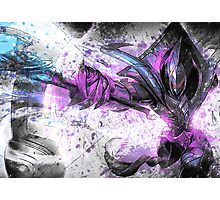 Azir League of Legends Champion Digital Mixed Media Art. Photographic Print