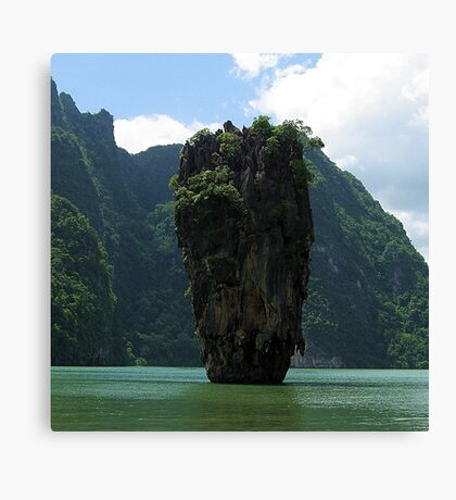 James Bond Island (Man with the Golden Gun !) Canvas Print