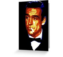 james bond Greeting Card