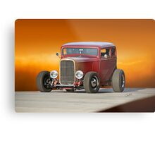 1932 Ford Victoria 'Leather' I Metal Print