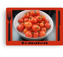 Tomato Set Canvas Print