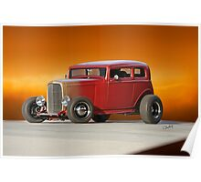1932 Ford Victoria 'Leather' II Poster