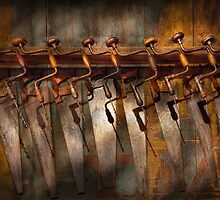 Carpenter  - Saws and Braces  by Mike  Savad