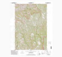 USGS Topo Map Oregon Andies Prairie 278844 1995 24000 Kids Tee