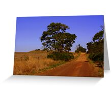 outback ozz Greeting Card