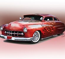 1950 Mercury Custom Sedan 'Barnfind' 1 by DaveKoontz