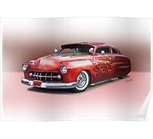 1950 Mercury Custom Sedan 'Barnfind' 1 Poster