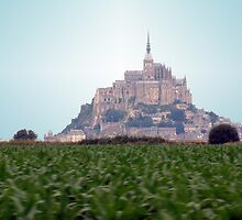 Mont St Michel by Paul  Green