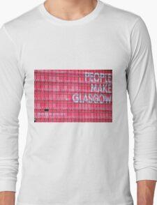 People Make Glasgow Long Sleeve T-Shirt