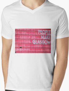 People Make Glasgow Mens V-Neck T-Shirt