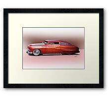 1950 Mercury Custom Sedan 'Barnfind' 2 Framed Print