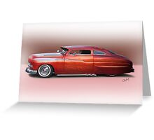 1950 Mercury Custom Sedan 'Barnfind' 2 Greeting Card
