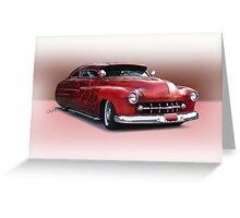 1950 Mercury Custom Sedan 'Barnfind' 3 Greeting Card