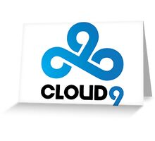 Cloud 9 Gaming Greeting Card