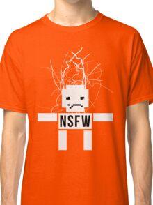 NSFW ROBOT Classic T-Shirt