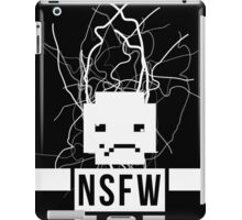 NSFW ROBOT iPad Case/Skin