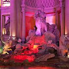 Fountain outside the Forum Shops by Mark Prior