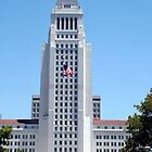 Los Angeles City Hall by Loree McComb