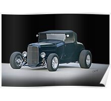 1929 Ford Model A Roadster 'Studio' Poster