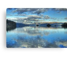 Windermere ,Views From The Glebe Canvas Print