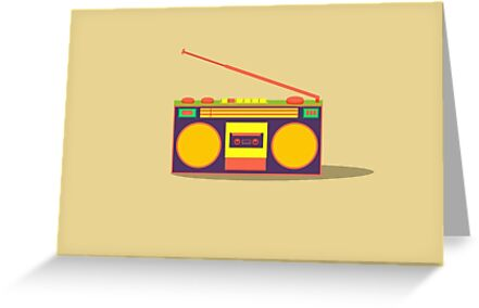 boombox - old cassette - Devices by hotamr