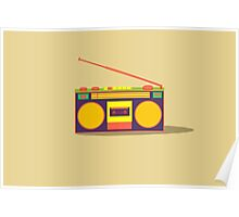 boombox - old cassette - Devices Poster