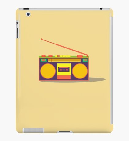 boombox - old cassette - Devices iPad Case/Skin