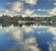 Windermere ,Views From The Glebe..Bowness by Jamie  Green